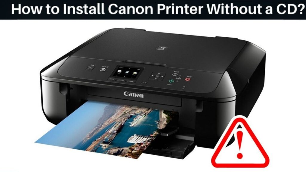 How to Install Canon Printer Without a CD_