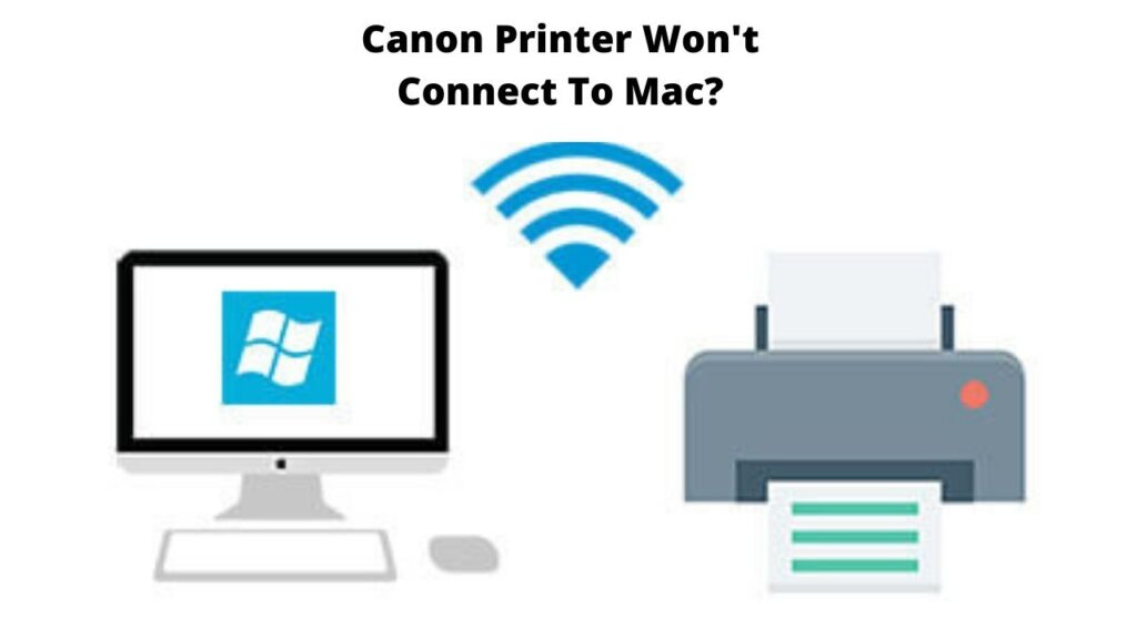 canon printer won't connect to mac